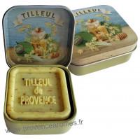Boîte et savon d'invité Tilleul de Provence Esprit Provence