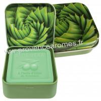 Boîte et savon 100 g à l'Aloé Vera Bio Esprit Provence