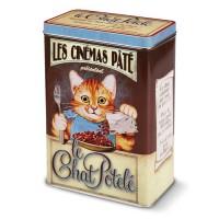 """Boîte à croquettes """" chat Potelé """""""