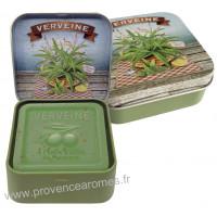 Boîte et savon 100 g Verveine de Provence Esprit Provence