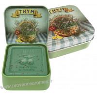 Boîte et savon 100 g Thym de Provence Esprit Provence