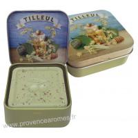 Boîte et savon 100 g Tilleul de Provence Esprit Provence