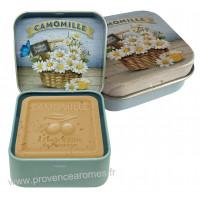 Boîte et savon 100 g Camomille de Provence Esprit Provence