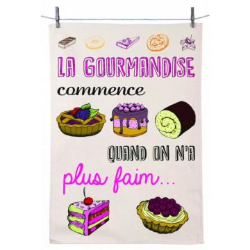 Torchon LA GOURMANDISE