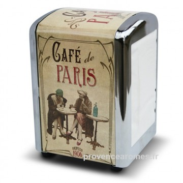 "Distributeur de serviettes "" Café de Paris "" Natives"