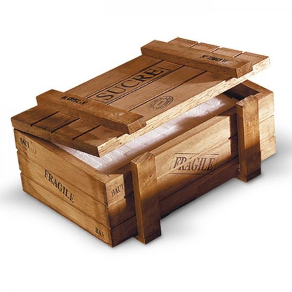 Bo te sucre caisse bois natives d co provence ar mes tendance sud - Fabriquer caisse en bois ...