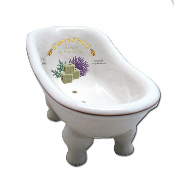 Porte savon baignoire ancienne provence savon de marseille for Porte savon pour baignoire