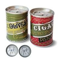 """Duo Poivre et Sel mini conserve Provençale """"Olive et Pistou """""""