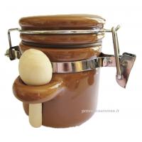 Pot à épices cuillère hermétique crème