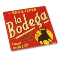 """Dessous de Plat """" Bar à Tapas La Bodéga """" Natives déco"""