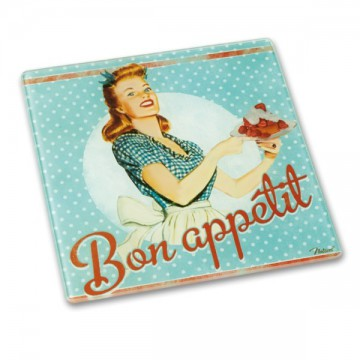 "Dessous de Plat "" Bon Appétit"" "" Miss Fifties "" Natives déco"
