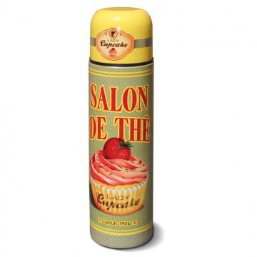 """bouteille thermos """" Lady Cupcake """" Natives déco rétro et vintage"""