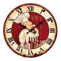 Horloge Chef cuisto