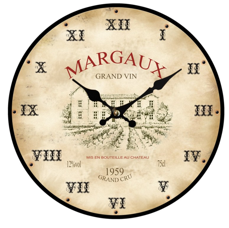 Horloge murale cuisine rouge with horloge murale cuisine rouge - Horloge murale cuisine rouge ...