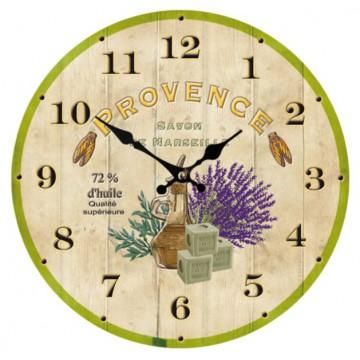 Horloge déco Provençale PROVENCE SAVON DE MARSEILLE