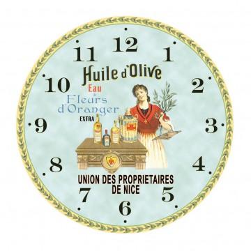 Horloge HUILE D'OLIVE