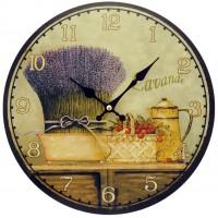 "Horloge "" Lavande Romarin """