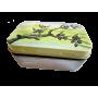 Boîte à savon branche d'olivier