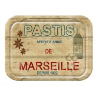 """Petit plateau """" Pastis de Marseille """""""