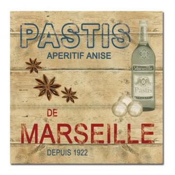 Dessous de Plat Pastis de Marseille