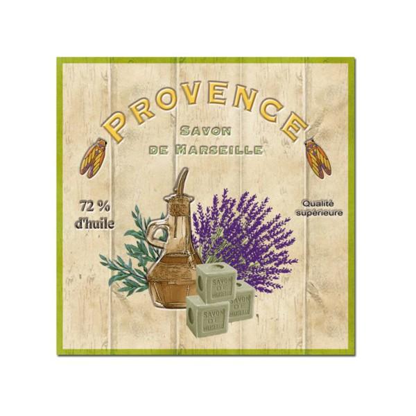 Dessous de plat d co provence savon de marseille for Deco aix en provence