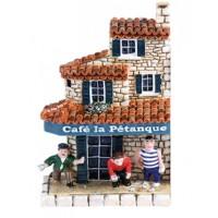 """Magnet """" Café la pétanque """""""