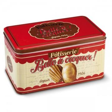 Boîte à biscuits BELLE Â CROQUER Natives déco rétro et vintage