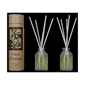 Parfum d'ambiance à bâtons Fleur d'oranger Provence et Nature