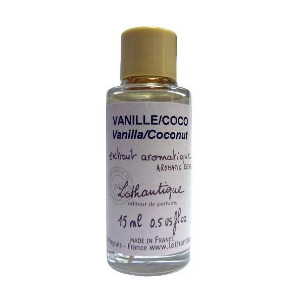 extrait concentr diffuser parfum vanille coco de lothantique. Black Bedroom Furniture Sets. Home Design Ideas
