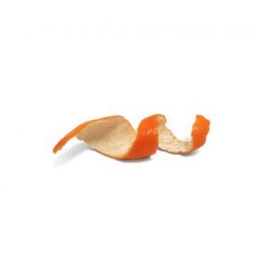 Orange écorce entière