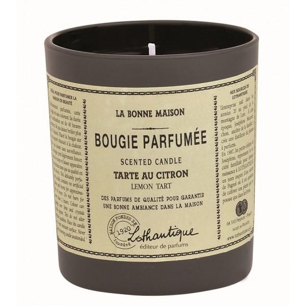 bougie parfum e tarte au citron de lothantique collection la bonne maison. Black Bedroom Furniture Sets. Home Design Ideas