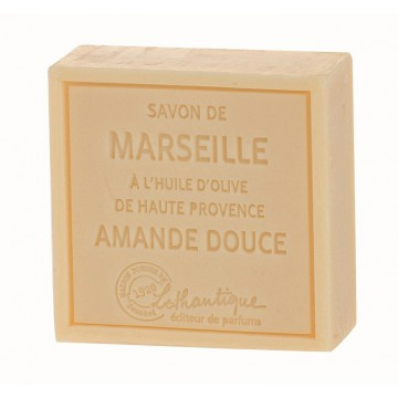 Savon de Marseille Amande douce à l'huile d'olive de haute Provence Lothantique