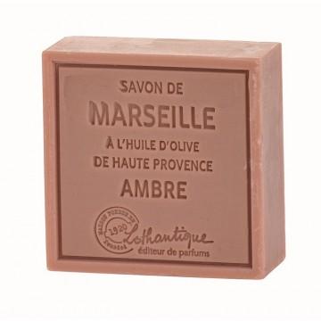 Savon de Marseille Ambre à l'huile d'olive de Haute Provence Lothantique