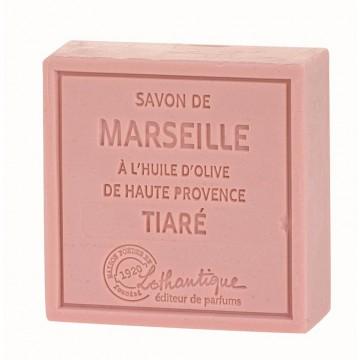 Savon de Marseille Fleur de tiaré à l'huile d'olive de Haute Provence Lothantique