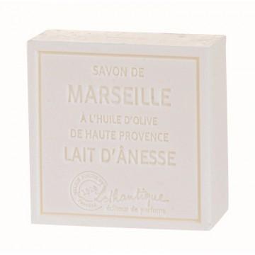 Savon de Marseille Au Lait d'ânesse et à l'huile d'olive de Haute Provence Lothantique