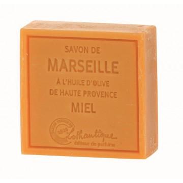 Savon de Marseille Miel à l'huile d'olive de Haute Provence Lothantique
