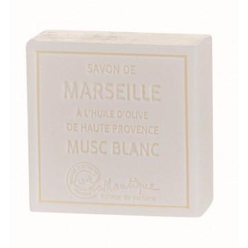 Savon de Marseille Musc Blanc à l'huile d'olive de Haute Provence Lothantique