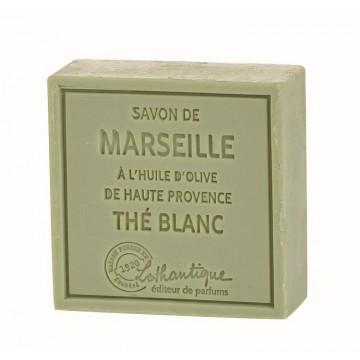 Savon de Marseille Thé Blanc à l'huile d'olive de Haute Provence Lothantique