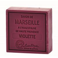 Savon de Marseille Violette Lothantique
