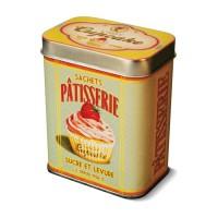 "Boîte métal sachet pâtisserie "" Lady Cupcake "" Natives"