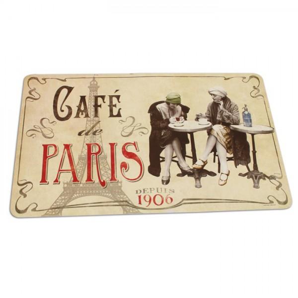 Set de table caf de paris natives d co r tro for Set de table paris