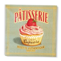 "Serviettes papier Patisserie "" Lady Cucake "" natives"