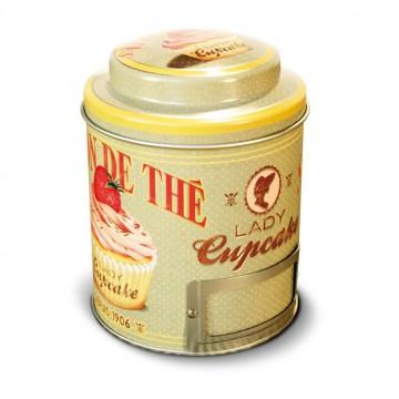 """Boîte à Thé """" Lady Cupcake """" Natives déco rétro et vintage"""