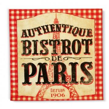 serviettes en papier authentique bistrot de paris natives. Black Bedroom Furniture Sets. Home Design Ideas