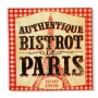 "Serviettes en papier "" Authentique Bistrot de Paris"" Natives"