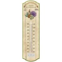 Thermomètre métal déco Provençale PROVENCE SAVON DE MARSEILLE