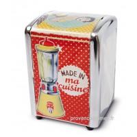 """Distributeur de serviettes """" Made in ma Cuisine """" Natives déco rétro vintage"""