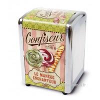 """Distributeur de serviettes """" Confiseur Le Manège Enchanteur """" Natives déco rétro vintage"""