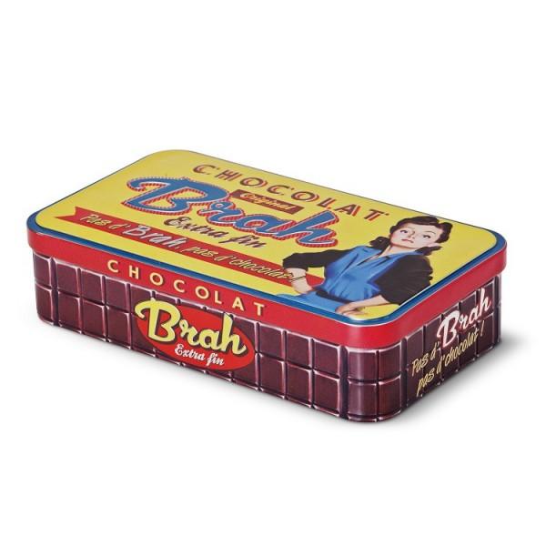 bo238te m233tal pour tablettes de chocolat quot chocolat brah