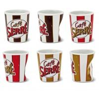 """Coffret Tasses à Café céramique """" Café Serré """" Natives"""